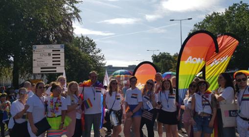 Aon At Pride 2019