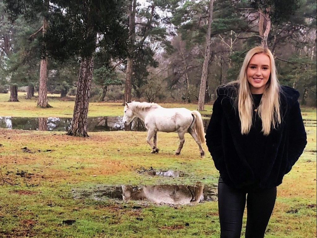 Rebecca Jenkins is new to the conservation group team at Westdown Camp