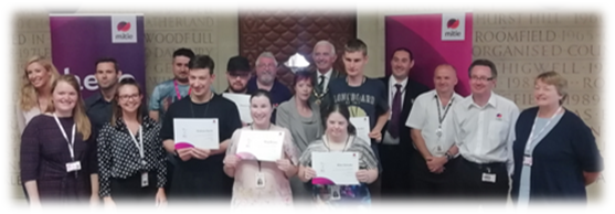 Our Ready2Work colleagues completed their 8 week programme