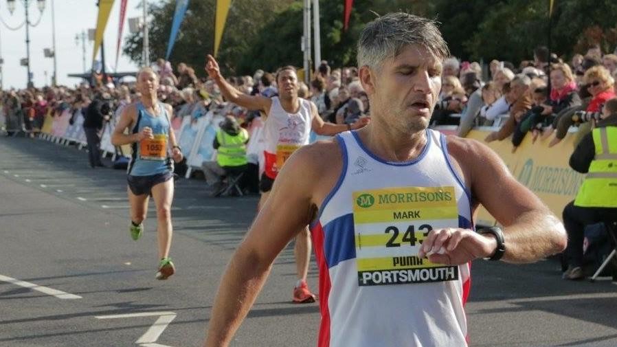 marathon-enthusiast Mark Campion