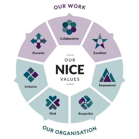 NICE values