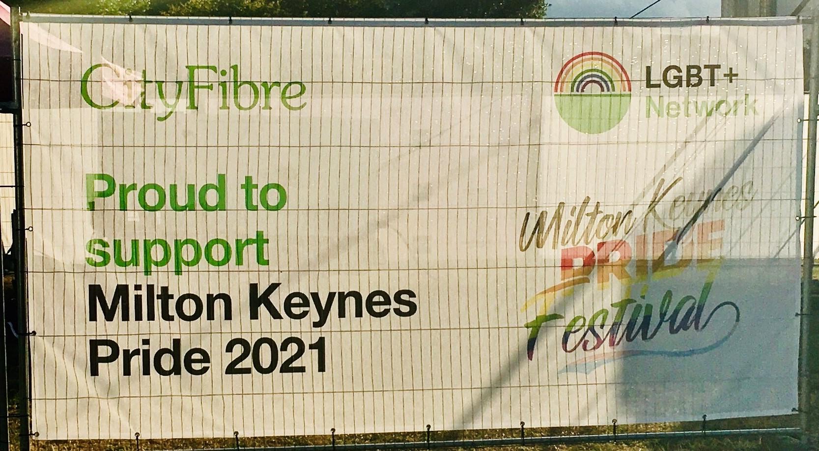 CityFibre - Sponsoring MK Pride 2021