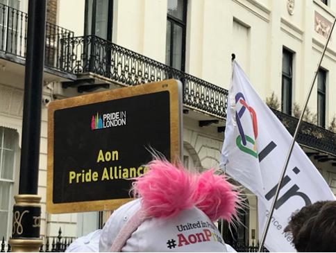 Aon at London Pride 2019