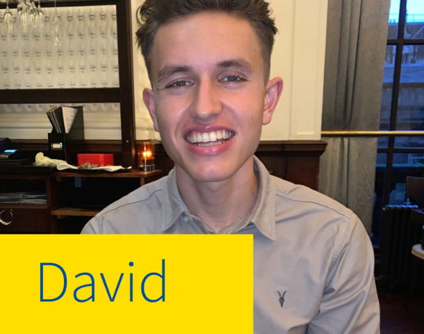 Meet David Scott, a Graduate IT Apprentice who is part of our General #Insurance business, and the first of our role models.