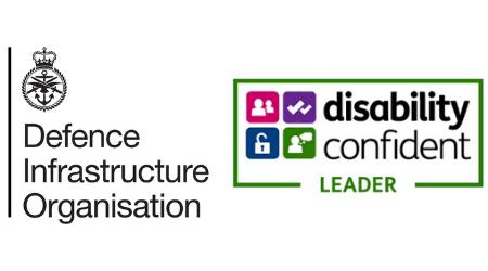 DIO logo   Disability Confident - LEADER