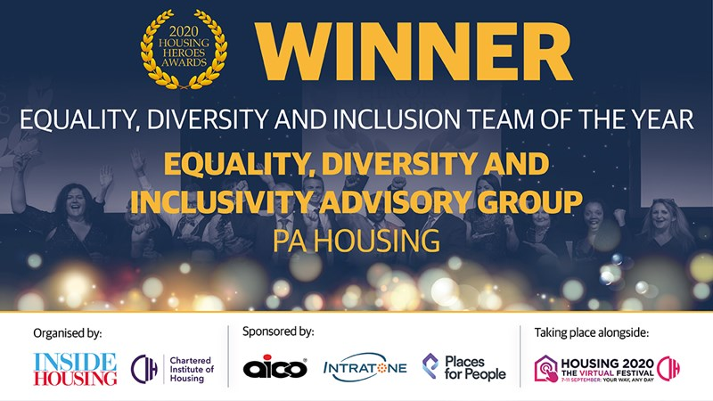 'Equality, Diversity and Inclusion Team of Year'