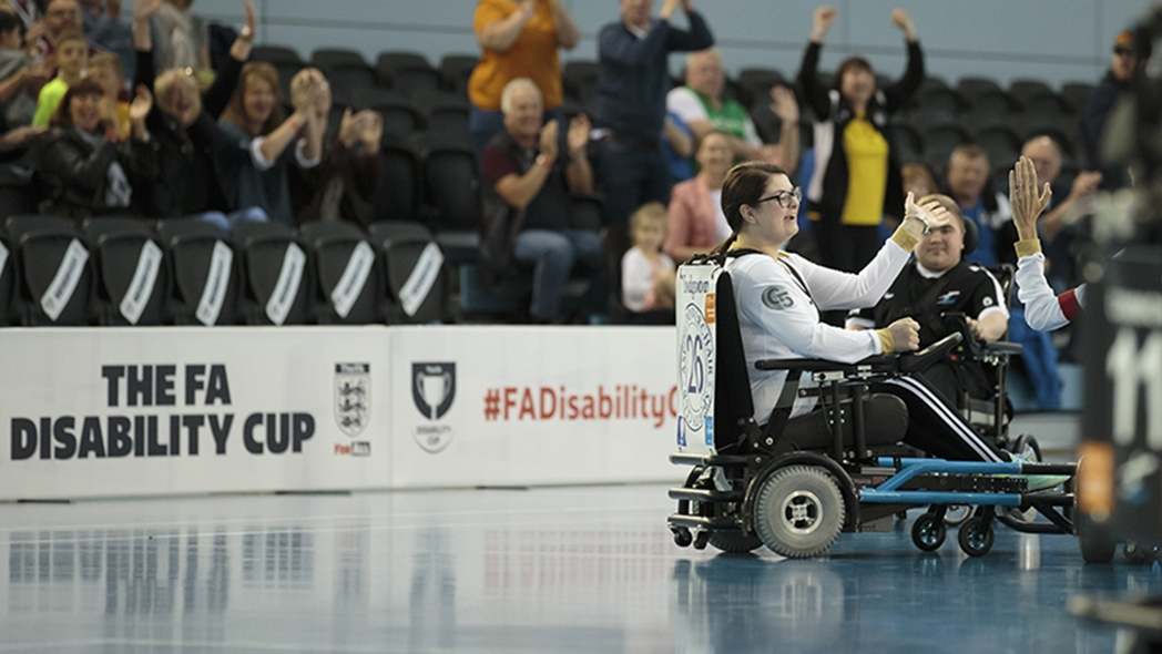 The FA Disability Cup returns to St. George's Park in July 2021