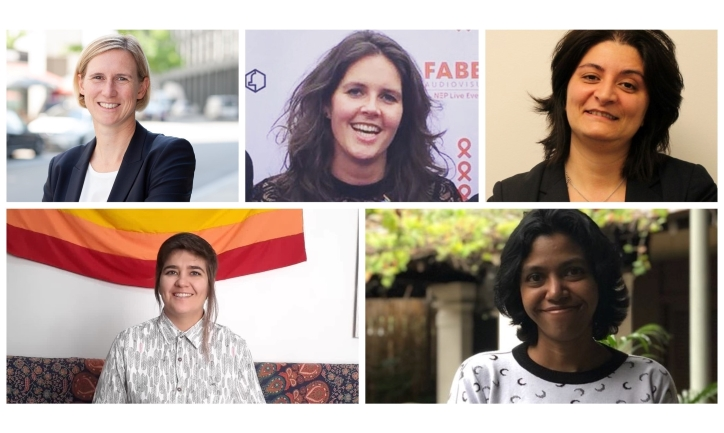 stories of five proud members of Accenture's LGBTI community