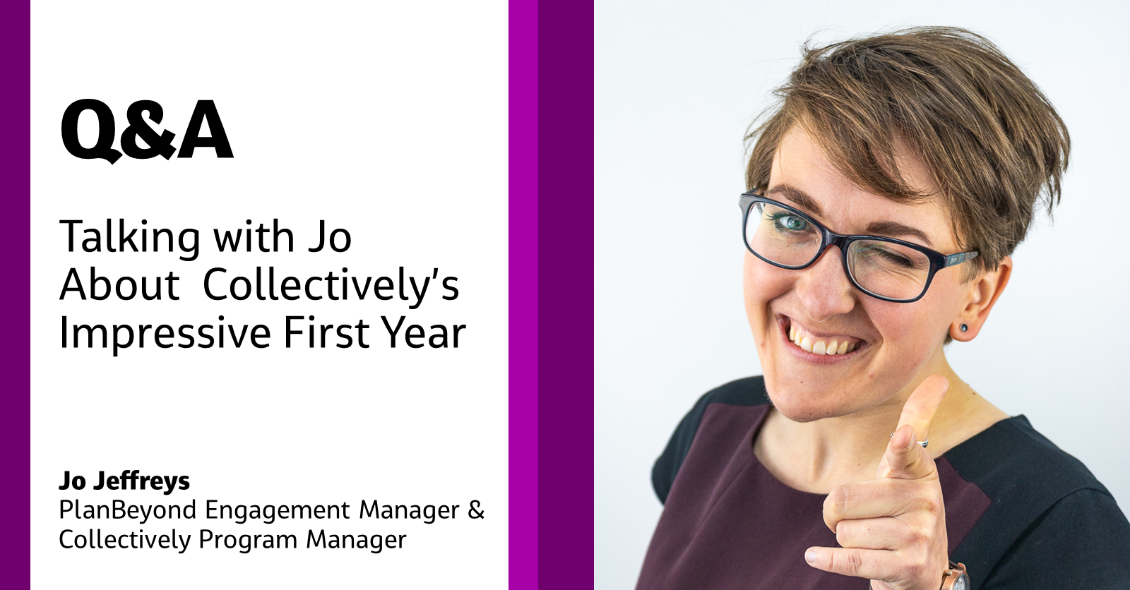 Jo Jeffreys, Collectively Program Manager