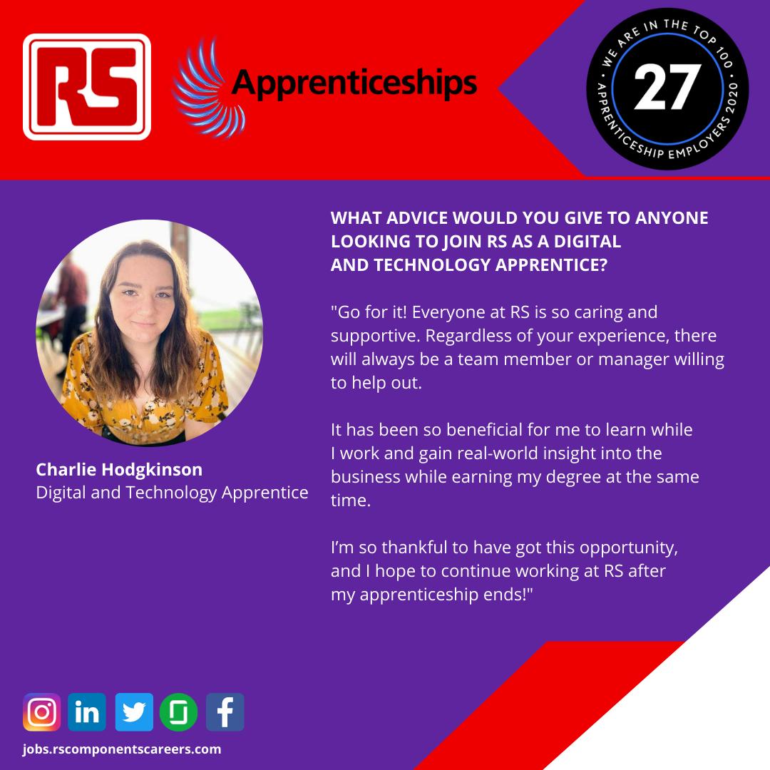 Charlie Hodgkinson Apprentice