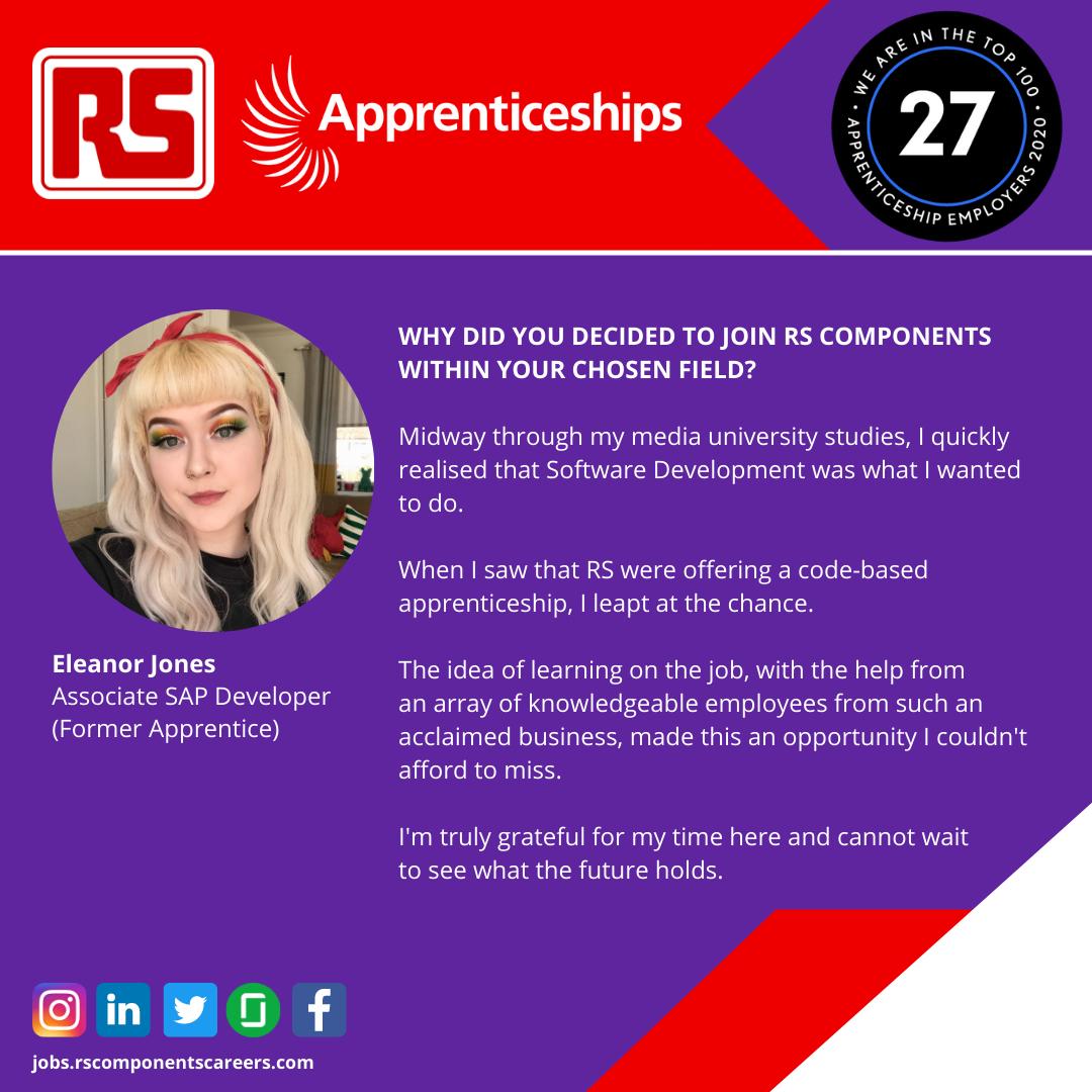 Eleanor Jones Apprenticeship