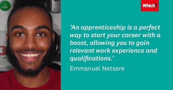 Emmanuel Netsere, People Apprentice