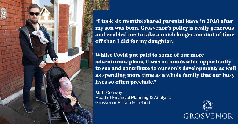 Shared Parental Leave Testimonial