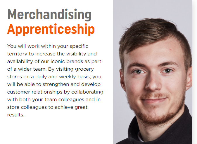Merchandising Apprenticeship