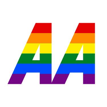 Pride AA Logo