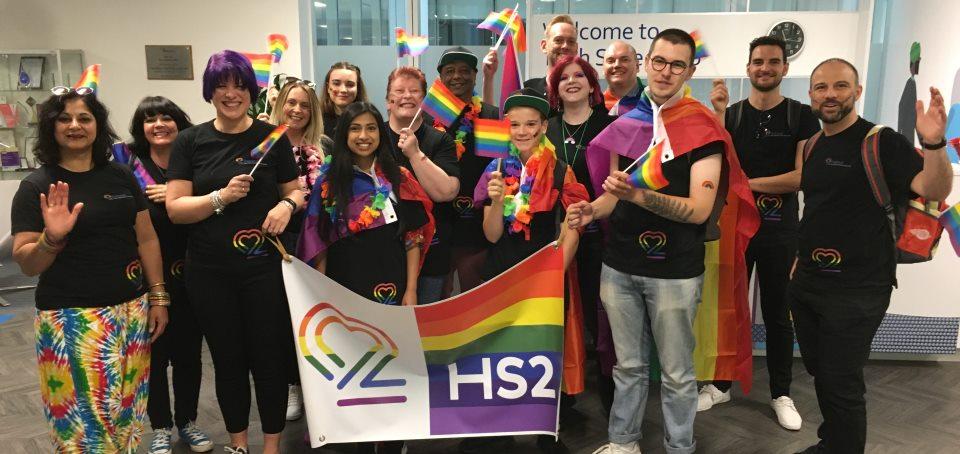 Onboard LGBTQ+ at HS2