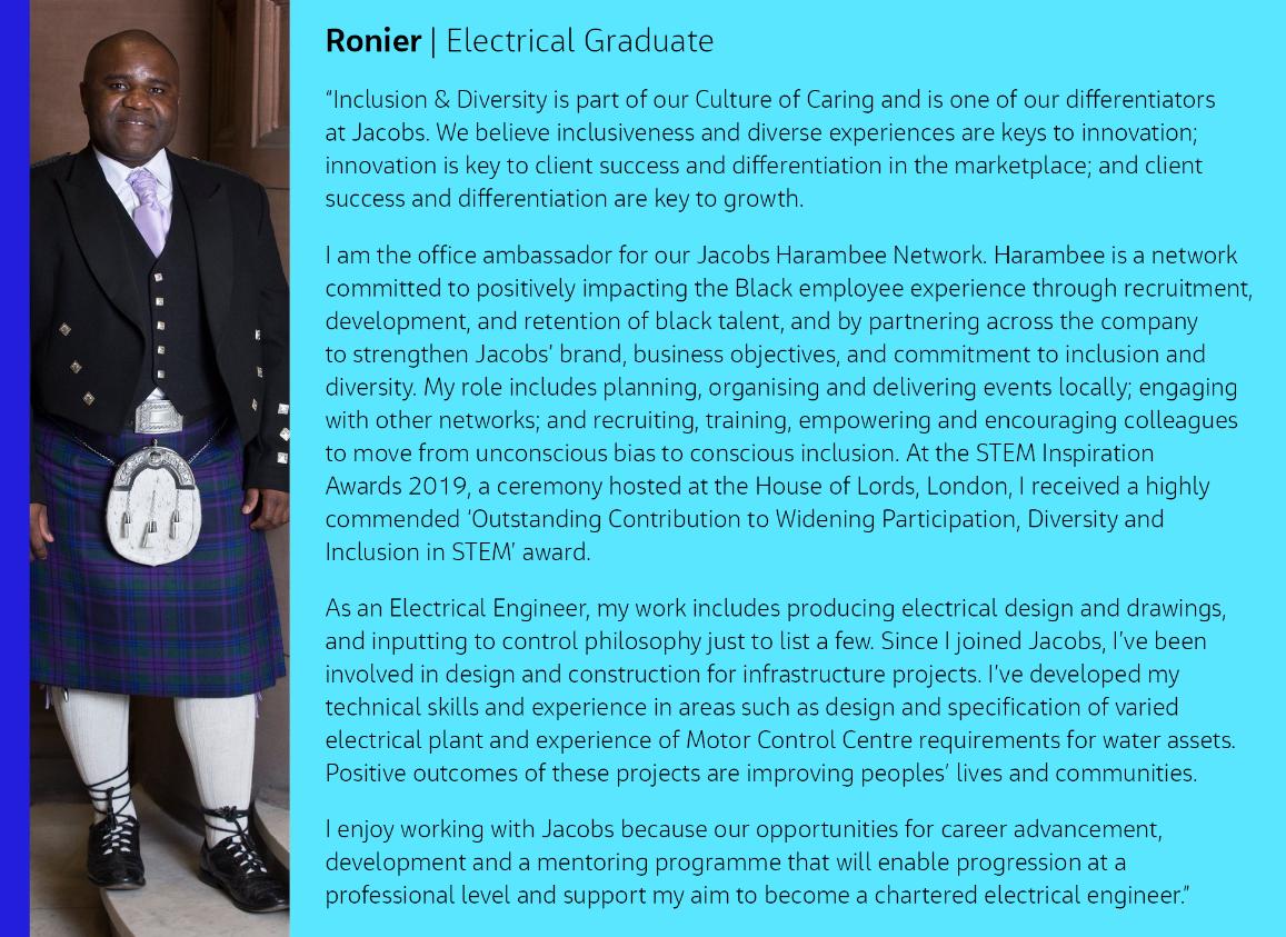 Ronier Graduate Profile