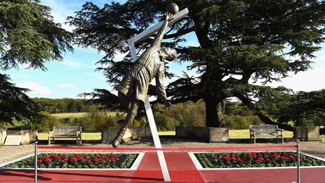 The statue of Arthur Wharton at St. George's Park