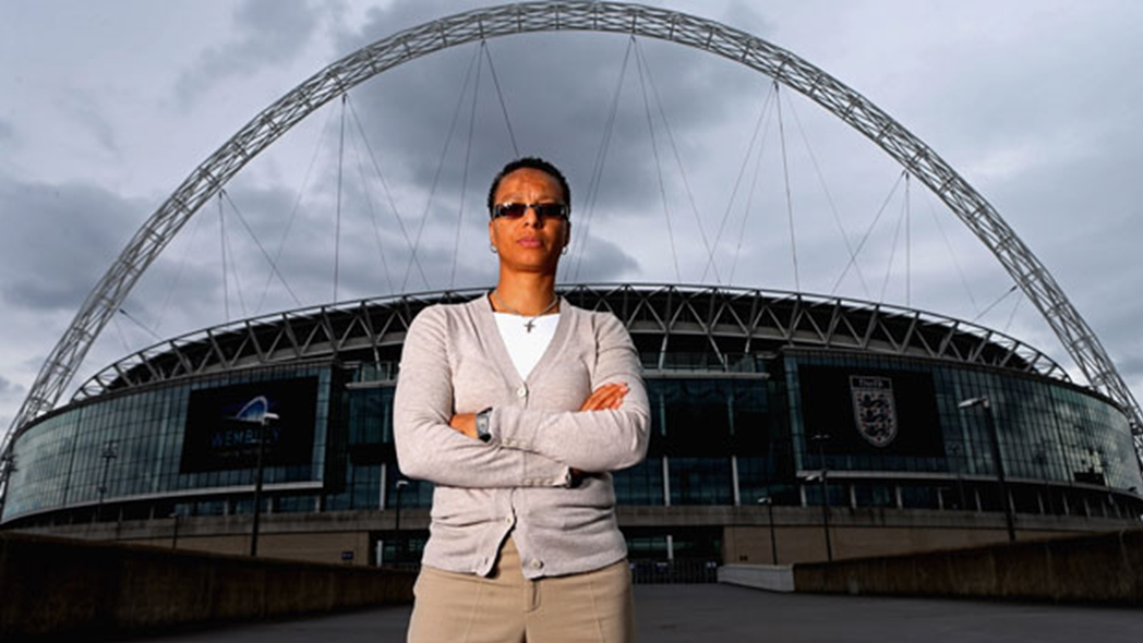 Hope Powell has been a pioneer for women's football in England, both as a player and coach