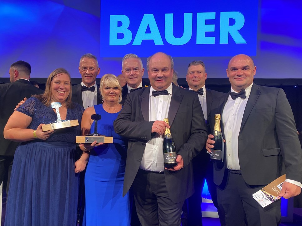Great Western Railway celebrate hat trick of awards at National Rail Awards