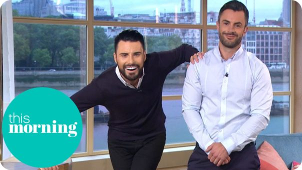 Image of Rylan and Dan present This Morning for Shortlist revealed for the British LGBT Awards