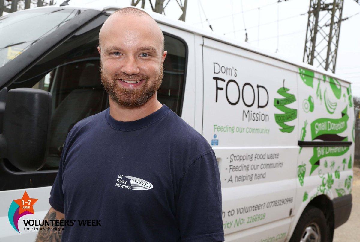 UK Power Networks Volunteer Dominic Warren