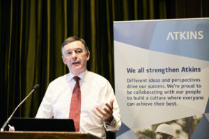 Image of Atkins launching LGBT+ Network