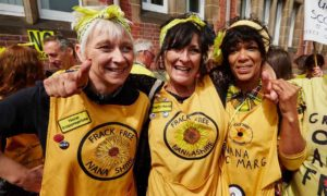 Image of Anti Fracking Nanas for Celebrating Women at WWF: Happy International Women's Day!
