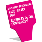 Diversity Benchmark Race- Silver 2018, Business in the Community logo