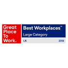 Great Place to work for the large employer category.