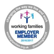 Working Families - Employer Member 2017/2018 logo