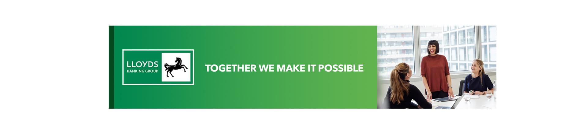 Words together we make it possible on green background
