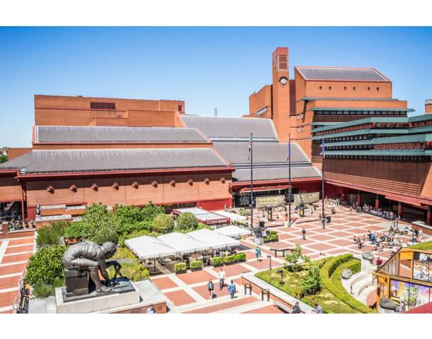 View of the British Library