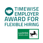 Timewise Employer Award for Flexible Hiring logo