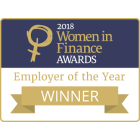 Women in Finance Awards 2018 - Employer of the Year Winner