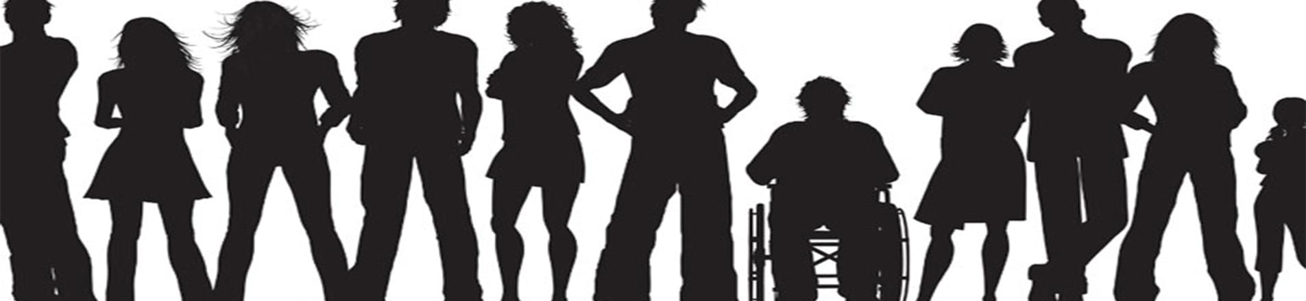 Image of peoples shadow. Managing employees with hidden disabilities: where to start?