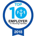 Top 10 Employers for Working Families 2018