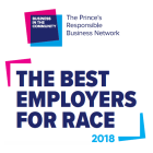 Image of the words 'The Best Employers for Race 2018'