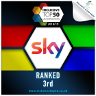 Sky awarded 3rd place on Inclusive Top 50 Employers UK Employers 2018/2019