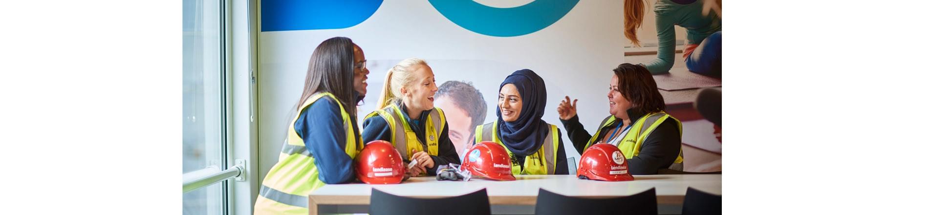 image of female engineers