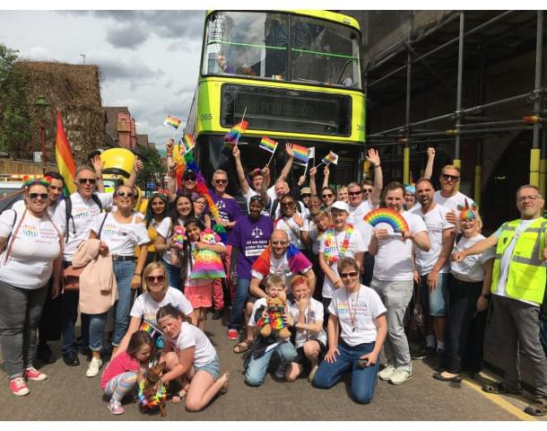 Birmingham Pride May 2019 Group Shot