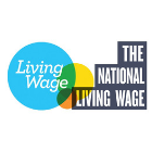 The National Living Wage logo.