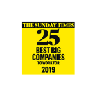 the sunday times 25 best big compaines to work for 2019