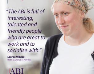 Lauren Willcox - Data & Analytics Adviser.