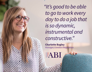 Charlotte Bagley - Manager, Conduct Regulation.