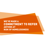 Commitment to Refer logo.