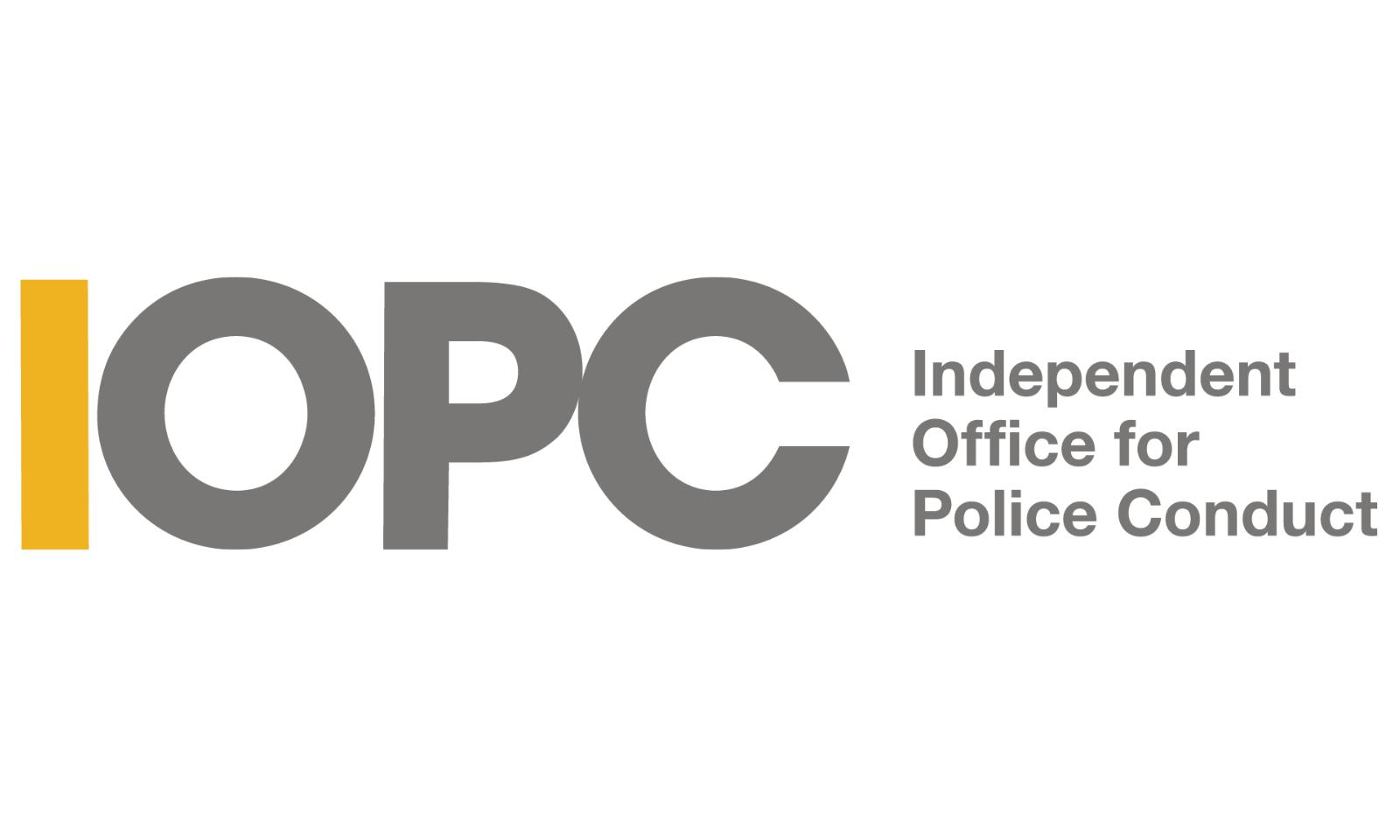 IOPC logo.
