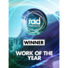 The RAD Awards Winner - Work of the year
