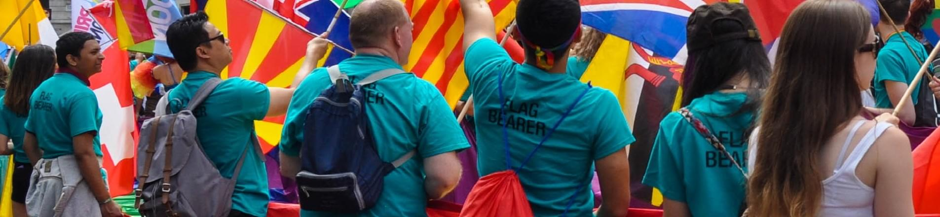 Thousands celebrate at London's pride parade 2015