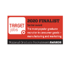 Target 2020 finalist national gradute recuitment awards
